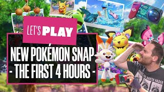 Let's Play New Pokémon Snap Gameplay - THE FIRST 4 HOURS