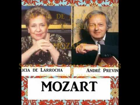 Alicia de Larrocha / André Previn - Mozart Sonata for two pianos, K.448