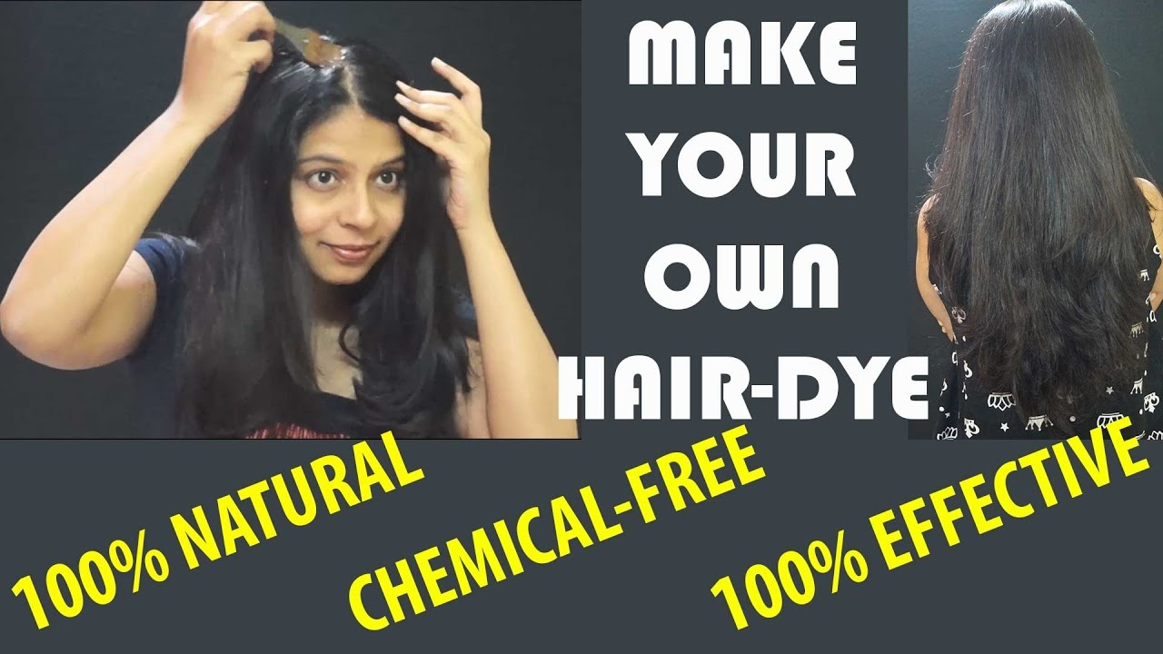 Diy Natural Coffee Hair Dye Get Rid Of Grey Hair Permanently Youtube