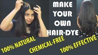 DIY NATURAL COFFEE  HAIR DYE | GET RID OF GREY HAIR PERMANENTLY