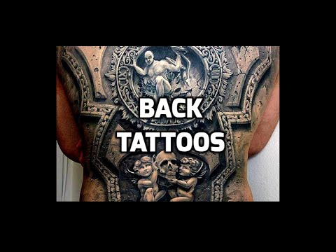 Best Back Tattoo Designs 2018