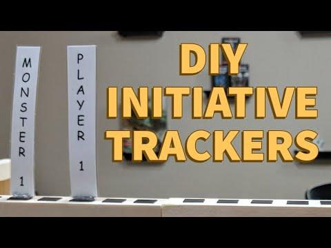 D&DIY Initiative Tracker For DM Screen