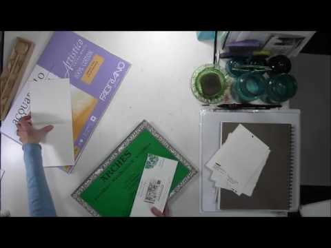 Watercolor Supplies - Paper (Part 1 of 4)