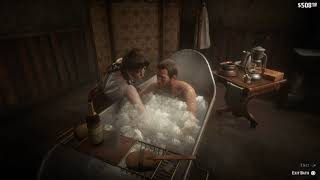 Red Dead Redemption 2 Deluxe Bath Gone Wrong (Glitch)