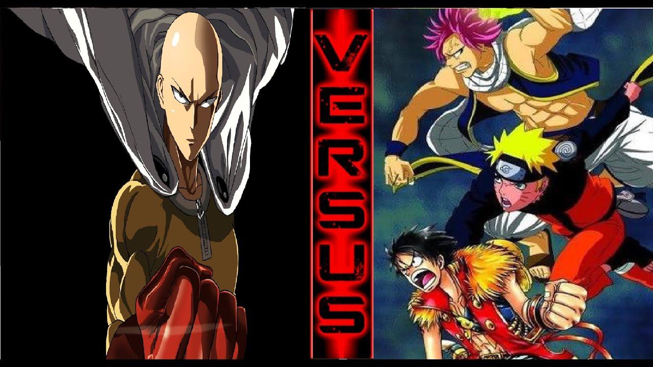 Luffy Goku Ichigo Tsuna Naruto Natsu