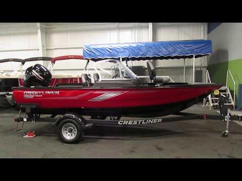 2020 Crestliner 1750 Fish Hawk JS NEB476