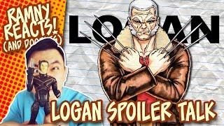 LOGAN Spoiler Talk + Coloring OLD MAN LOGAN  Ramny Reacts and Doodles