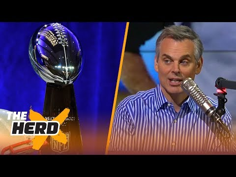 Colin Cowherd makes his Super Bowl LII prediction  THE HERD
