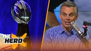 Colin Cowherd makes his Super Bowl LII prediction | THE HERD