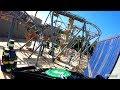 [HD] The Green Hornet Coaster - Motiongate Theme Park
