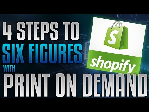Free Training: 4 Step System To Master T-Shirt Print On Demand With Shopify