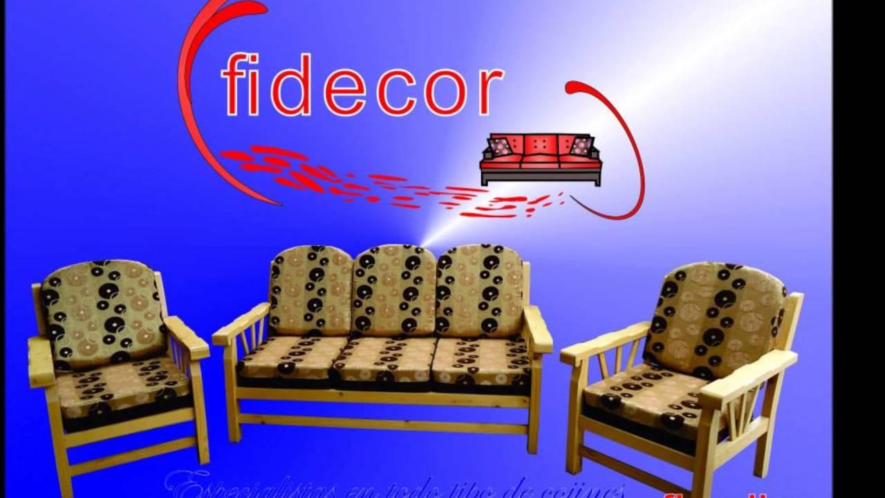 Cojines para sala youtube - Cojines para sillas ...