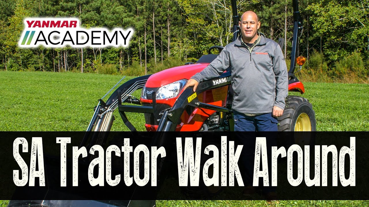 Discover the Yanmar SA Tractor Series - Special Review