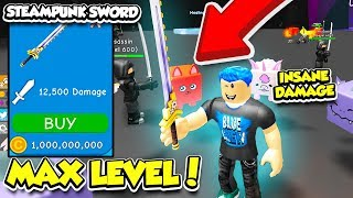 I GOT THE MAX LEVEL WEAPON AND BECOME THE MOST POWERFUL IN RPG WORLD SIMULATOR!! (Roblox)