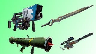 How to get four *VAULTED* weapons in Fortnite Creative