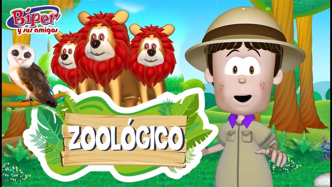 Biper y sus Amigos - Zoológico (Video Oficial)