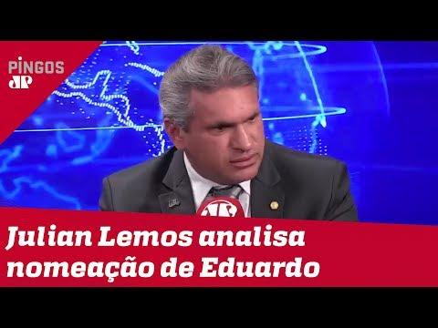 Julian Lemos analisa nomeação de Eduardo Bolsonaro à liderança do PSL: 'Começou errado'
