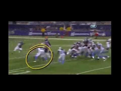 Adrian Peterson 80 yard run vs Lions