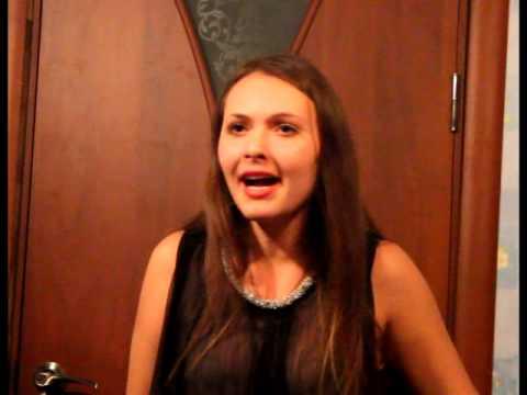 Видео: Ална Матвеенко - Белая птица А капелла