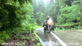 Mountain Trip Part 1: Austria on BMW R1200GS-lc motorbike roadtrip in 6 countrys