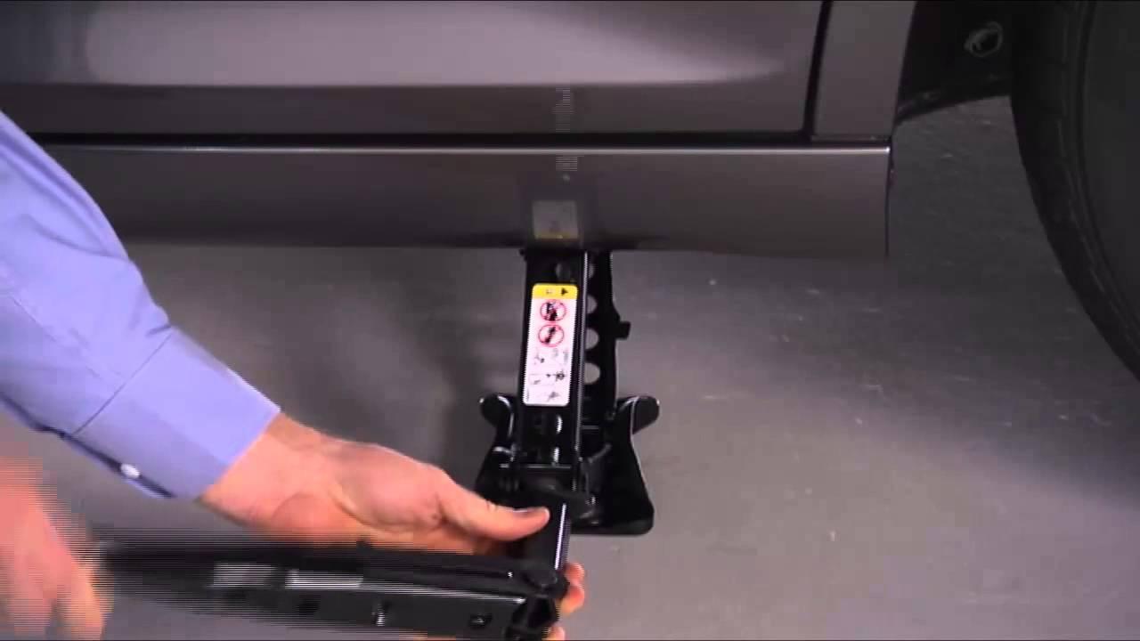 2015 Chrysler 300 | Jacking and Tire Change - YouTube