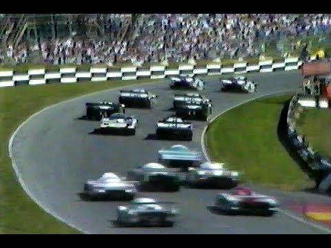 Brands Hatch 1000 Km 1985 Group C Sports cars - Porsche 962  / Lancia LC2 / Jaguar XJR-6
