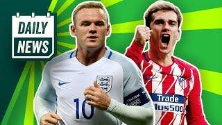 Klinsmann zum VfB? Van der Vaart macht Schluss! Rooney-Comeback bei England & Griezmann in die Buli?