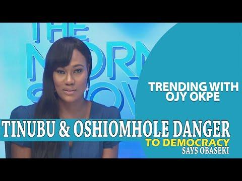 Obaseki: Tinubu and Oshiomhole would destroy our democracy - Trending w/ Ojy Okpe
