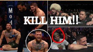 *NEW Full corner footage\/audio of Khabib vs Conor fight