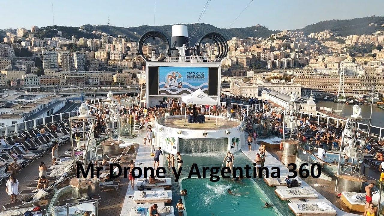 MSC Seaview Crucero Salida desde Genova Italia - YouTube