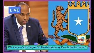 WAR DEG DEG; RW Xasan Cali Khayre Oo Qaadey Tilaabo Culus Xili Kenya Iyo Somalia Khilaaf Xoogan