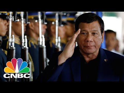 President Trump Tells Philippines President Duterte Of US Subs In Korean Waters: Bottom Line | CNBC