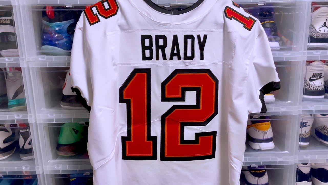 Tom Brady Nike Elite Vapor Elite Tampa Bay Buccaneers Jersey