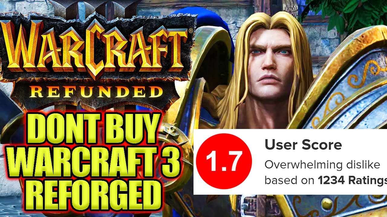 Do Not Buy Warcraft 3 Reforged Youtube