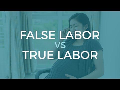 False Labor vs. True Labor - Childbirth Education