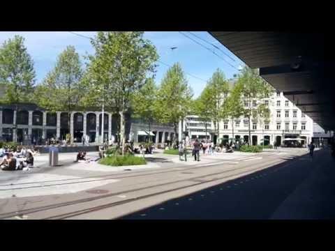 Switzerland Railway Station Zurich
