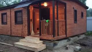 Дачный домик Бристоль от магазина бытовок