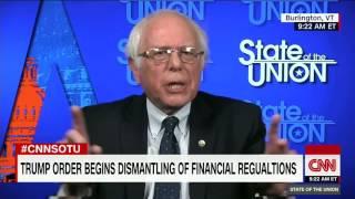 """Sanders says Trump """"This guy"""