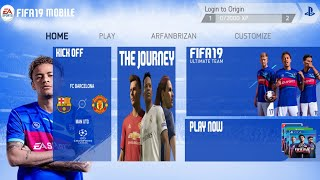 Download FIFA 19_MOBILE | 700MB Beta Offline | Best High Graphic Android Game