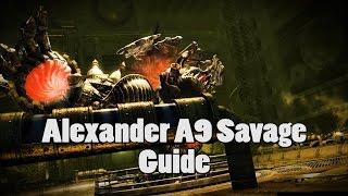 ffxiv heavensward alexander a9s les yeux du crateur savage guide