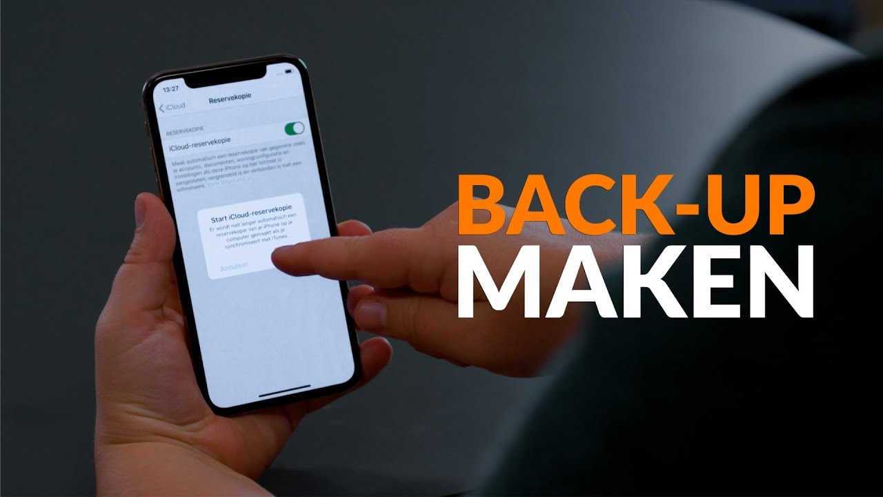 Tip: Zo maak je een back-up van je iPhone (Reservekopie)