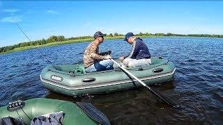 НАЛОВИЛИ МЕШОК РЫБЫ! 100 лодок на воде! Щука, судак, окунь! Открытие с лодки 2018