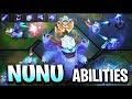 NUNU REWORK ABILITIES GAMEPLAY SPOTLIGHT - League of Legends
