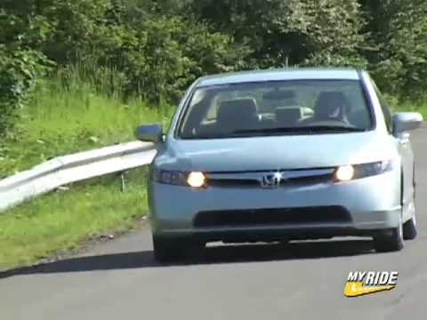 Attractive Review: 2006 Honda Civic Hybrid   YouTube