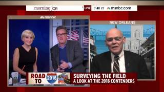 James Carville talks 2016 on MSNBC