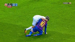 Evil Madrid CF ● 10 Dirty Actions vs Lionel Messi ● Disgusting Club ||HD||