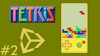 2 - Unity Game Development - Create A Tetris Game - Creating Menus - Unity Tetris Game Tutorial