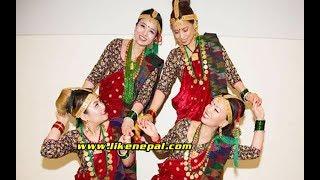 हेरेको हेरेइ भए हे साइली || Kauda Dance || Durga, Rita, Bidhya, Laxmi || Live in London