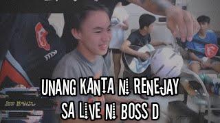 Renejay at Weigibbor kumanta sa livestream ni boss Dogs