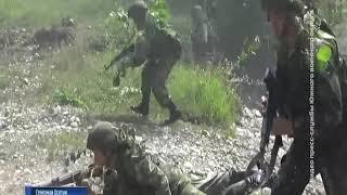 Донские военные принимают участие в масштабной тренировке на полигоне
